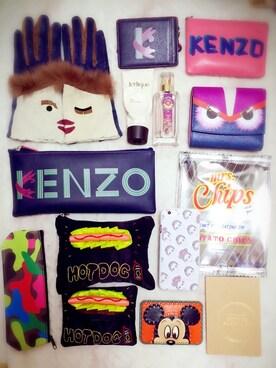 pinkさんの(KENZO|ケンゾー)を使ったコーディネート