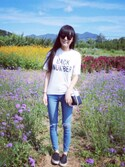 「Tall moto blue joni jeans(Topshop)」 using this Good Dream  looks