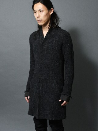 DEVIANT名古屋さんの「lien middle coat anatomy wool/cashmere wovens(Lien|リアン)」を使ったコーディネート