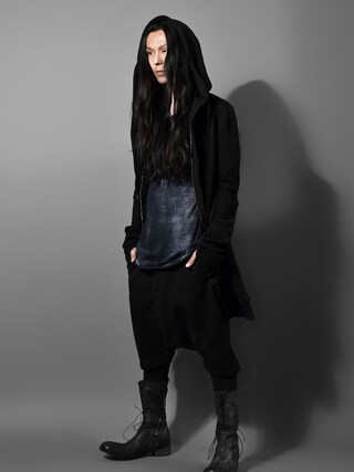 "DEVIANT名古屋さんの「N/07 FIELD LONG HOODIE ""Fleecy Cotton""」を使ったコーディネート"