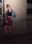 「Steve Madden Donddi Flat Sandals(Steve Madden)」 using this Lydia Wood looks