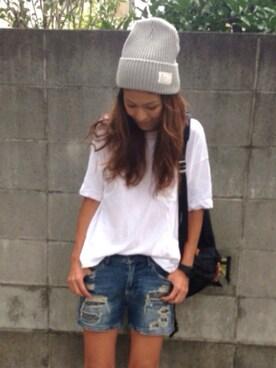 yukoさんの(JOURNAL STANDARD|ニューエラ)を使ったコーディネート