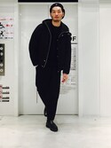 daiki_nakaneさんの「河田フェザーダウンジャケット(UNITED TOKYO ユナイテッドトウキョウ)」を使ったコーディネート