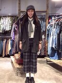 「Barbour 'Classic Bedale' Waterproof Waxed Cotton Jacket (Big Boys)(Barbour)」 using this 郭津秀   looks