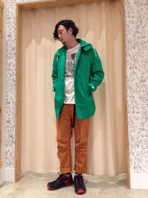 【春に着こなしたいステンカラーコート】メンズ着こなしの参考に♪