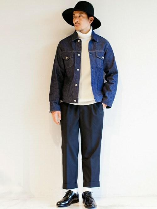 <<もうダサいとは言わせない!>>デニムジャケットを使ったワンランク上の着こなしの画像