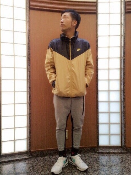 アキナ秋山のスニーカー「メンズ ナイキ エアマックス NIKE AIR MAX 93 306551-103」を使ったコーディネート