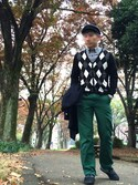 loosecubeさんの「ANA-DIGI TEMP for FRED PERRY(FRED PERRY|フレッドペリー)」を使ったコーディネート