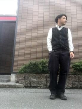 Shuhei Enomotoさんの(URBAN RESEARCH アーバンリサーチ)を使ったコーディネート