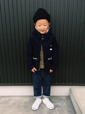 kikki│URBAN RESEARCH DOORS KIDSのその他アウターコーディネート
