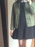 「FOREVER 21 Raw-Edged Smock Dress(Forever 21)」 using this A looks