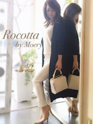 MOERY SHOP 静岡店|MOERYSHOP STAFF MIHOさんの(Rocotta by MOERY|ロコッタ)を使ったコーディネート