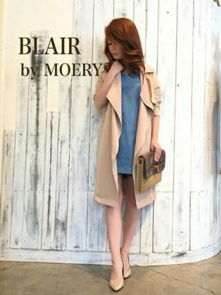 MOERY SHOP 静岡店|MOERYSHOP STAFF MIHOさんの(BLAIR by MOERY|ブレア)を使ったコーディネート