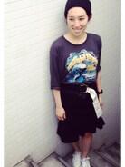 AKANE UTSUNOMIYAのキレイめスカートがお気に入り。