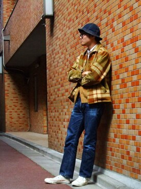 kyoheyさんの(NEW YORK HAT|ニューヨークハット)を使ったコーディネート