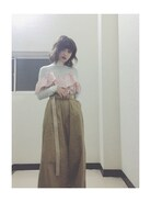 「SULK OFF CHINO PANTS(Candy Stripper)」 using this 高橋愛 looks