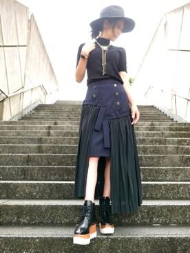 alicjaさんの(KIJIMA TAKAYUKI|キジマ タカユキ)を使ったコーディネート