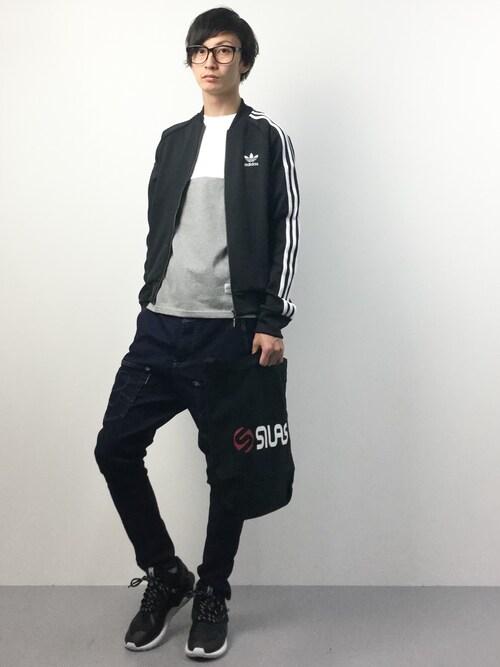 RENさんの「adidas SST TRACK TOP(adidas)」を使ったコーディネート