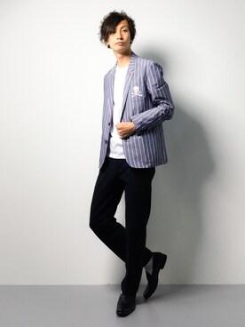 ZOZOTOWN|RENさんの(10 by juha stable garments|テンバイユハ ステーブルガーメンツ)を使ったコーディネート