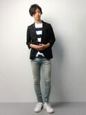 RENさんの「★2016秋冬モデル★オリジナルス スタンスミス [STAN SMITH](adidas originals|アディダスオリジナルス)」を使ったコーディネート