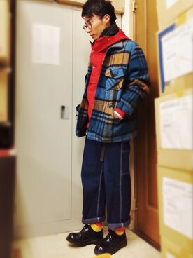 URAAKIHIKO│Nepcoのデニムパンツコーディネート