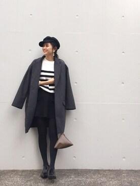 LIFE's代官山店|Hina...☻*さんの「ウールチェスターコート(TODAYFUL)」を使ったコーディネート