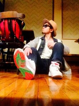Hiroki Matsudaさんの「ロングブリムウールハット(FREAK'S STORE)」を使ったコーディネート