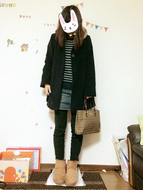 ♡♡®io♡♡さんの「Fendi Zucca Medium Shopping Tote Bag(Fendi)」を使ったコーディネート