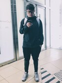 「ASOS BRAND ASOS Drop Crotch Joggers In Lightweight Fabric(Asos)」 using this Victor Leung looks
