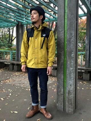koさんの「KURO / クロ DIAMANTE ONE WASH(KURO|クロ)」を使ったコーディネート