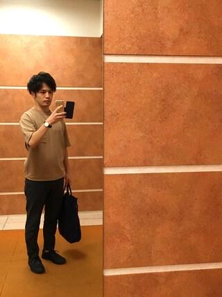 Ryo-jiさんの「15春夏新入荷【DANTON(ダントン)】トートバッグ(Danton|ダントン)」を使ったコーディネート