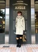 kazuさんの「ウサギタフネス(AIGLE|エーグル)」を使ったコーディネート