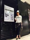 natsuki  hiraoさんの「オードトワレ In The Spotlight(AZUL by moussy|アズールバイマウジー)」を使ったコーディネート