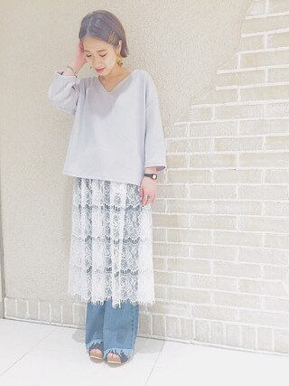 mystic LUCUA大阪店|okada sakiさんの「【mystic】テロントリブレースセットアップ(mystic|ミスティック)」を使ったコーディネート