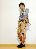 「Ben Sherman Shirt with Gingham Check(Ben Sherman)」 using this D-iro looks