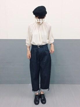 SIXTY ONE ARROW グランフロント大阪店|ヤマシタ アヤネさんの(GRANDMA MAMA DAUGHTER)を使ったコーディネート