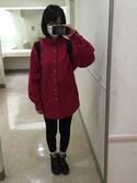 「Polo Ralph Lauren Oxford Shirt in Slim Fit(Polo Ralph Lauren)」 using this CHIHOOOO looks