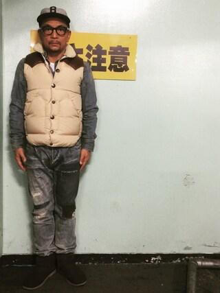 中野英雄さんの「UGG CLASSIC MINI DECO(UGG|アグ)」を使ったコーディネート