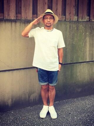 中野英雄さんの「COMFORT/LI C/N P/O ② シャツ(green label relaxing|グリーンレーベルリラクシング)」を使ったコーディネート
