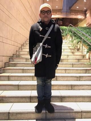 中野英雄さんの(SAINT LAURENT PARIS|サンローランパリ)を使ったコーディネート
