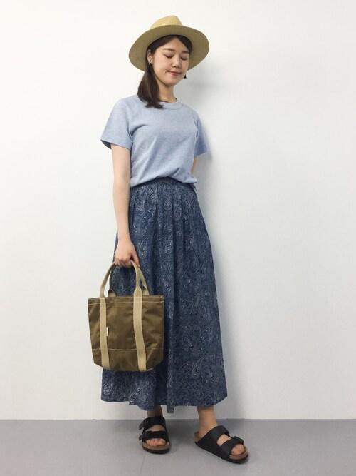 ちゅんさんの「TOP45★Tシャツ(45R)」を使ったコーディネート