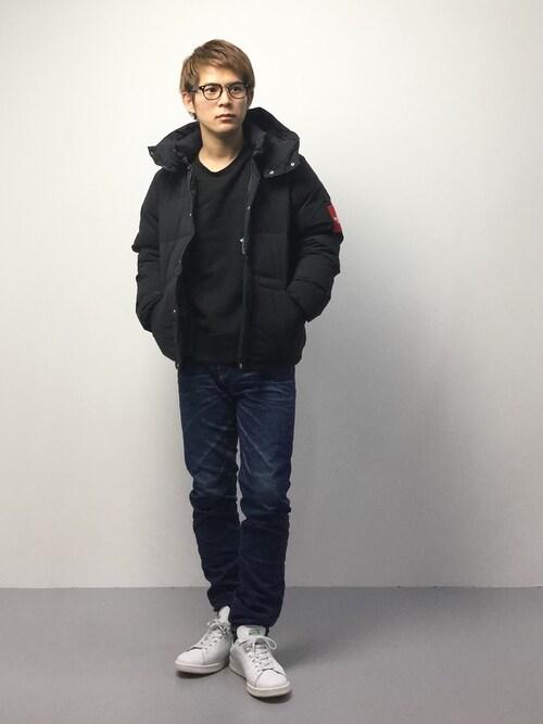 """nozomu""""さんの「◇KURO / クロ 417別注 EN.TOE BLUE DENIM(KURO)」を使ったコーディネート"""