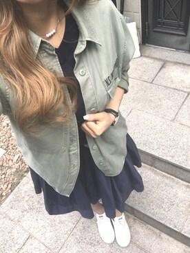 Sakuraさんの(RETRO GIRL|レトロガール)を使ったコーディネート