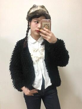 安中亜美さんの(カオリノモリ|カオリノモリ)を使ったコーディネート