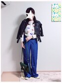 「3.1 Phillip Lim The Pashli Mini Textured-Leather Trapeze Bag(3.1 Phillip Lim)」 using this まるさ looks