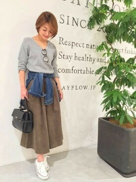 BAYFLOW 新宿マルイ店|BAYFLOW 新宿マルイさんの(BAYFLOW|ベイフロー)を使ったコーディネート