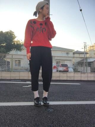「liflattie:アルパカ カノコ ヘッドバンド(SHIPS for women)」 using this reimkm looks