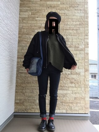 「Dr.Martens (ドクターマーチン)/1461 3EYE GIBSON SHOES(Dr.Martens)」 using this reimkm looks