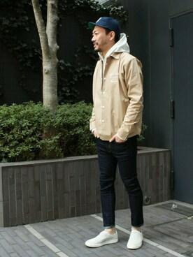 graniphZOZOTOWN|mitsuruさんの「シャツジャケット/ボタニカルスカル(graniph)」を使ったコーディネート
