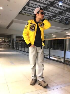 AVIREX ららぽーと横浜|TSUYOSHIさんの(AVIREX|アヴィレックス)を使ったコーディネート